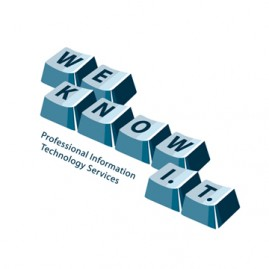 We Know I.T. Logo Design