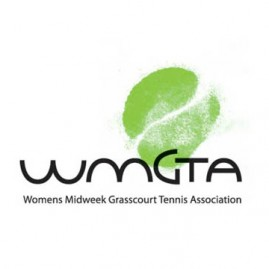 Women's Midweek Grasscourt Tennis Association Logo Design