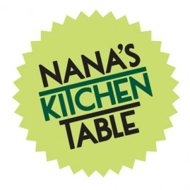 Nana's Kitchen Table Logo Concept