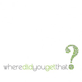 Where Did You Get That? Logo Design